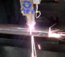 Laser cutting of pipes and profiles